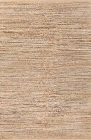 Solid Gray Area Rug by Jaipur Rugs Naturals Solid Pattern Taupe Gray Jute And Cotton Area