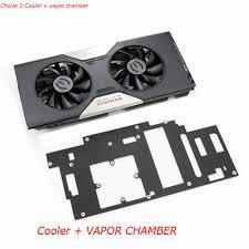 vapor chamber gpu cpu heat sink set vga cooler radiator with heatsink heatpipe fan for evga gtx780 gtx