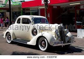 1934 plymouth vintage car at the tremains art deco weekend at