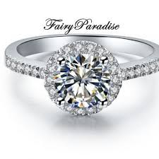 lab created engagement ring affordable lab created engagement rings by fairyparadise