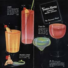 vintage cocktail tonga room dr fu honolulu cocktail tonga red and zombie