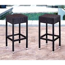natalie wicker outdoor bar stools set of 2 sam u0027s club