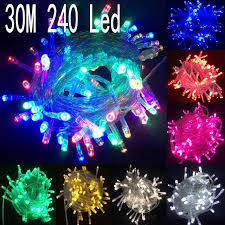 halloween purple led string lights 30m 240 led string lights for xmas tree holiday wedding party