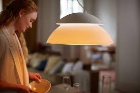 Wohnzimmer Lampe F Hue Philips Hue Led Pendelleuchte Beyond Erweiterung Dimmbar Bis Zu