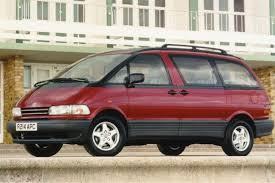 toyota previa toyota previa 1990 car review honest john