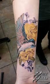 Flower And Bird Tattoo - 675 best tattoo ideas images on pinterest tatoo animal tattoos