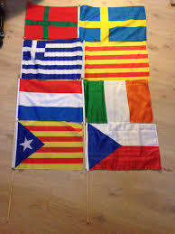 Flag Of Catalonia My Flag Collection Bornholm Sweden Greece Catalonia