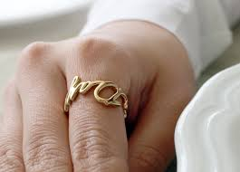 custom name ring 18k solid gold personalized name ring custom name ring custom