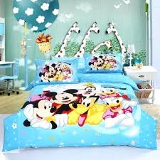 Mickey Duvet Cover Mickey Mouse Double Bed Set Smartwedding Co
