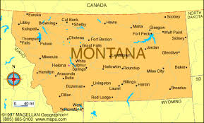 montana maps map of montana was the 41st state to join the union and became a
