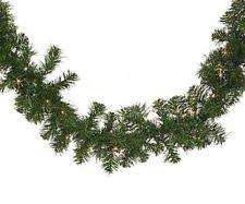 christmas garland with lights outdoor christmas garland ebay