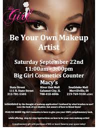 new york makeup artists be your own makeup artist with big girl cosmetics and macys