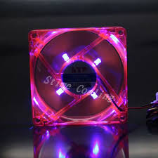 purple led lights for computers 100pcs pc computer fan 80mm with led 8025 8cm silent fan 12v