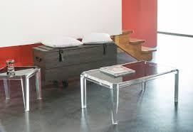 Table Basse by Tables Basses Transparentes Design De Salon En Plexiglas