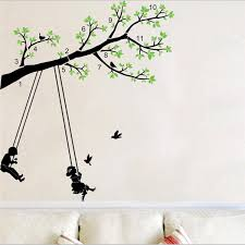 pretty arts promotion shop for promotional pretty arts on home living room bedroom decor creative removable wall sticker pretty tree wall art magic stickers for kids cute birds