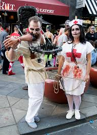 photos denver zombie crawl 2016 brings fright to life on the