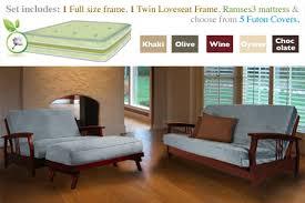 Futon Living Room Set Living Room Captivating Futon Set Ideas How To Dress Of