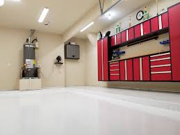 G Floor Roll Out Garage Flooring by White Garage Floor Coating Polyurea Garage Flooring Llc