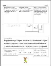 second grade worksheets edhelper com