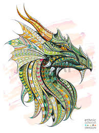 5 859 dragon tattoo cliparts stock vector and royalty free dragon