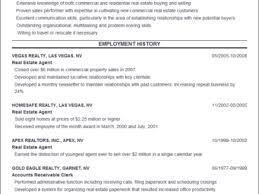 Resume Sample Real Estate Agent by Wall Street Resume Resume For Young Real Estate Agent Trying To