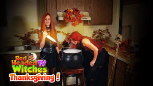 thanksgiving tv red headed witches tv thanksgiving youtube