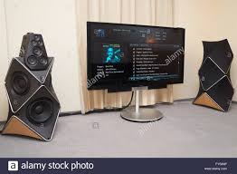bang olufsen home theater system home theater stand stock photos u0026 home theater stand stock images