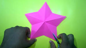 how to make a christmas star with one cut only easy craft ideas