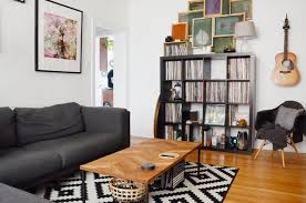 living room chicago chicago organic apartment with scandinavian living room living