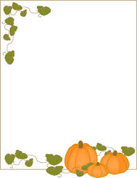pumpkin frame border paper or label crafty thanksgiving crafts