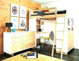 used bunk bed with desk bunk beds with desk for sale vennett smith com