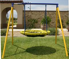 Swing Set For Backyard by Jumppower Ufo Swing Set U0026 Reviews Wayfair