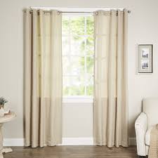 Outdoor Curtains With Grommets Parasol Key Largo Solid Blackout Thermal Outdoor Grommet Single
