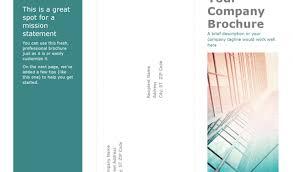 brochures templates word brochures office free renanlopes me