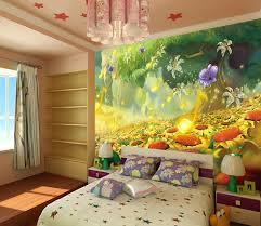 papier peint trompe l oeil pour chambre wallpaper children poster papier peint paysage féerique