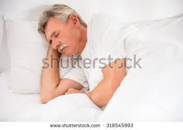 Head In Comfortable Bed Confused Man Waking Bed Sheet Over Stock Photo 42809509 Shutterstock