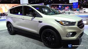 ford escape 2018 ford escape titanium exterior and interior walkaround
