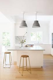 best ideas about zen kitchen pinterest organised concrete benchtop oak floor industrial pendants cream cupboards understated zen modern contemporary bright kitchen family friendly