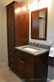 Bathroom Vanity With Side Cabinet Bathroom Vanities And Cabinets New 36 Inch Vanity With Within Side