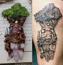 61 remarkably cute tree tattoo designs for the nature lover in you