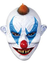 evil clown mask mad about horror payday 2 the heist joker clown