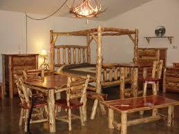cedar dining room table bedroom amazon com white cedar log king kitchen dining 71vksfwf