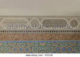 one of the beautiful walls of grand mosque of with islamic