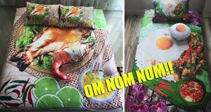 Bedsheets These Outrageously Creative Food Themed Bed Sheets Are Taking
