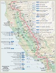 Redding California Map Pacific Crest Trail U2013 Fenella U0027s Adventures