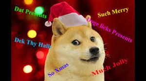 Doge Meme Christmas - doge christmas youtube