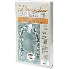 darice 8 decorative arch white walmart