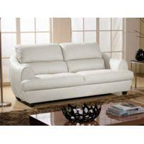 canapé cuir blanc 3 places canape cuir blanc 3 places achat canape cuir blanc 3 places pas