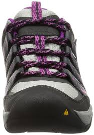 keen womens boots uk keen s oakridge wp low rise hiking shoes magnet 95 m us