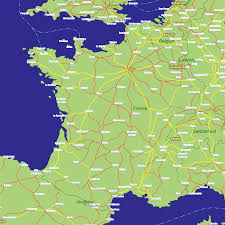 Map Of France Cities by Map Of France And Switzerland With Cities Beauteous Map Of France